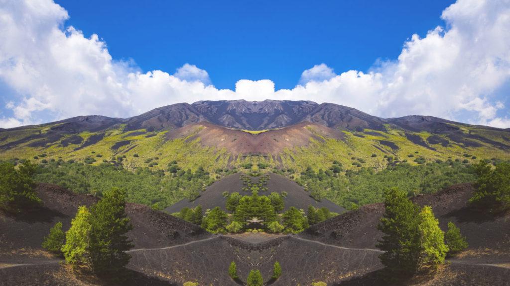 Etna, sopka, Itálie