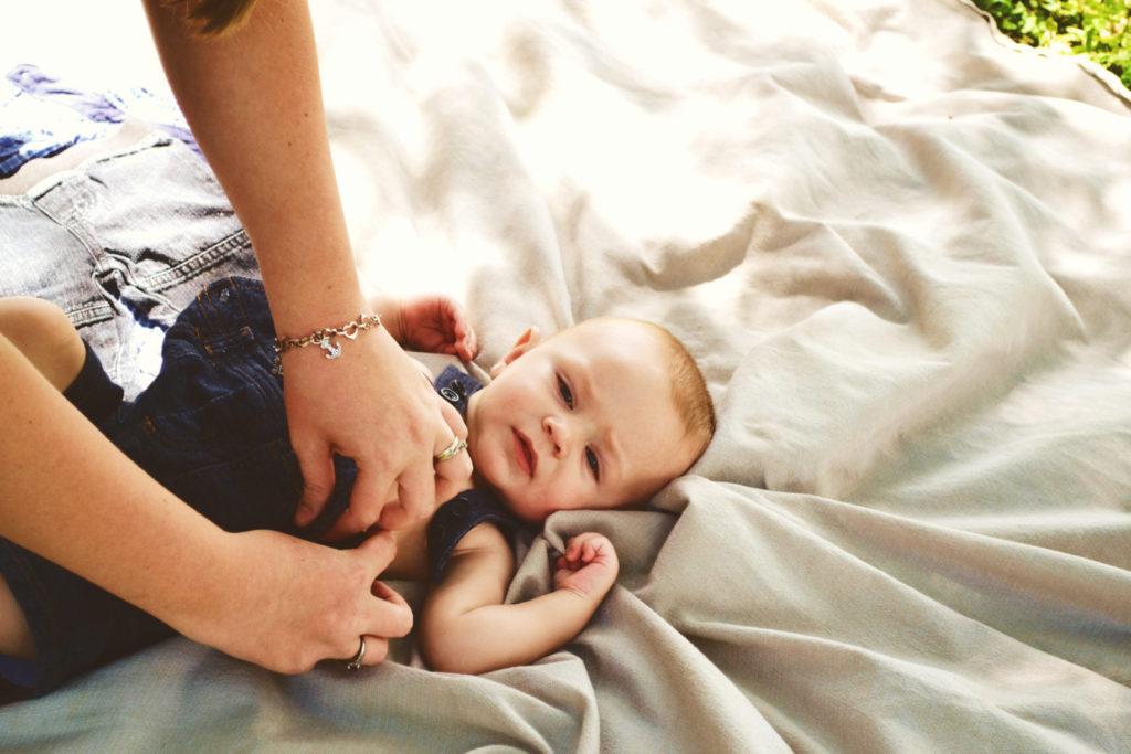 Bolesti bříška nejsou u kojenců nic neobvyklého.